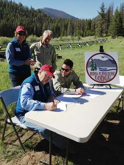 30 Year Special Use Permit Awarded to IAF by USFS for Rebuilding the Lodge at Big Creek