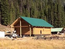 Big Creek Lodge Structure is Ready for Its' First Winter!