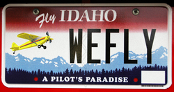 Aviation License Plate Program Saved